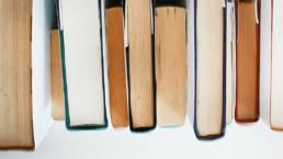 stack of habit books