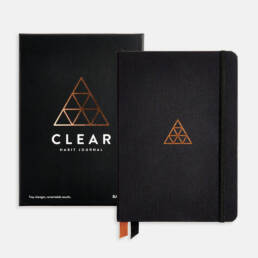 Clear Habits Journal by Baron Fig